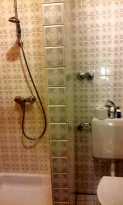 Shower in Germany